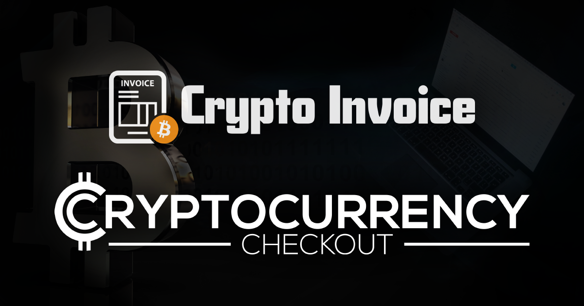 Accept Cryptocurrencies with an invoice.